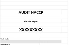 Screenshot CHECK LIST PER AUDIT HACCP