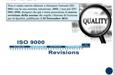 Screenshot ISO 9001:2015 QUALITA' E SICUREZZA