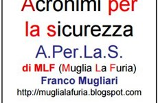 Screenshot ACRONIMI SICUREZZA E