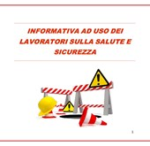 Immagine INFORMATIVA HEALTH AND SAFETY