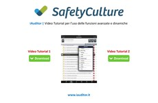 Screenshot iAUDITOR VIDEO TUTORIAL FUNZIONI AVANZATE