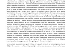 Screenshot SINTESI PROPOSTE MODIFICA DEL TESTO UNICO