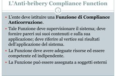 Screenshot SLIDE STANDARD ISO 37001 ANTI CORRUZIONE