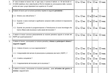 Screenshot RACCOLTA ULSS VERONA CHECK-LIST OPERATIVE DI SETTORE