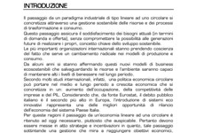 Screenshot Economia e Finanza Circolare: strategie e best practice