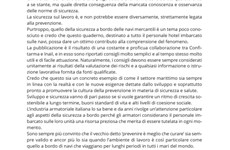 Screenshot Manuale Inail su sicurezza personale hotel a bordo nave