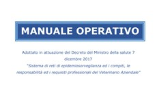 Screenshot VETERINARIO AZIENDALE: MANUALE OPERATIVO