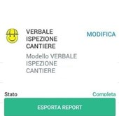 Immagine VERBALE SICUREZZA CANTIERE DL 81 2008 APP IAUDITOR